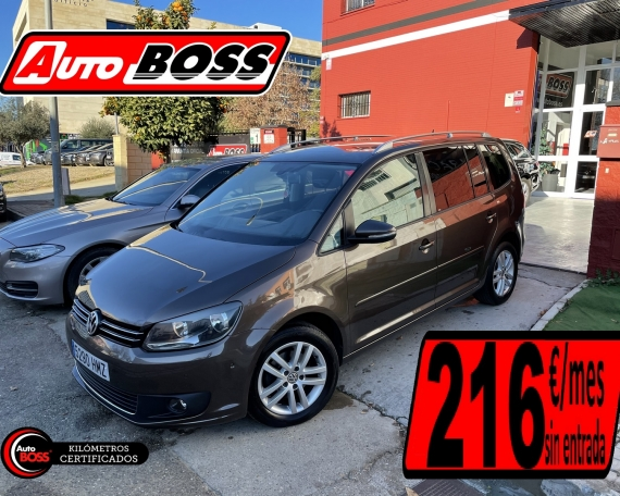 VW TOURAN 1.6 TDI | 2015 | 9.900€