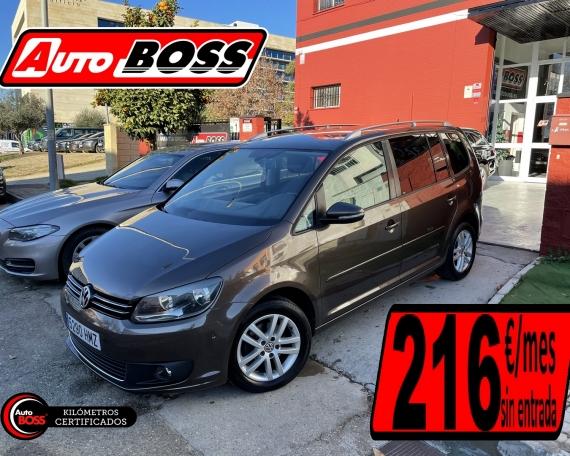VW TOURAN 1.6 TDI | 2015 | 9.900€
