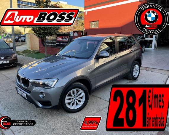 BMW X3 20D | 2017 | 21.500€