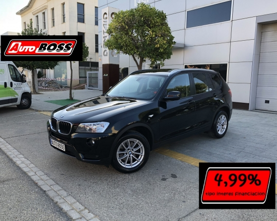 BMW X3 18D STEPTRONIC| 2014 |18.900€