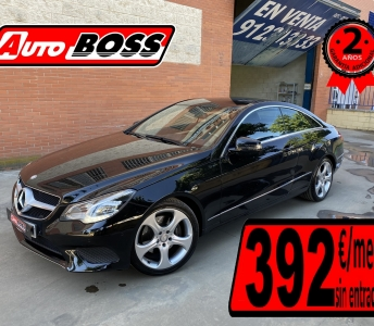 MERCEDES E250 COUPE  | 2016 | 29.950€