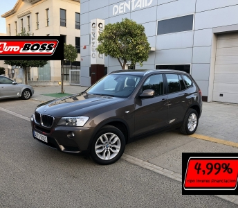 BMW X3 20D STEPTRONIC| 2013 |19.900€