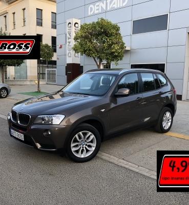 BMW X3 20D STEPTRONIC| 2013 |19.900€