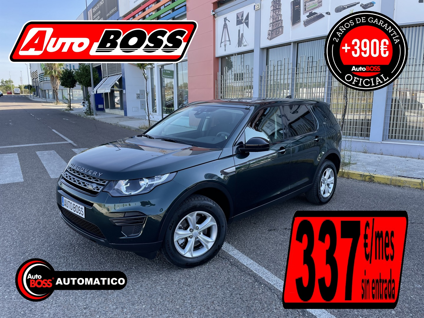 LAND ROVER DISCOVERY SPORT | 2017 | 25.950€